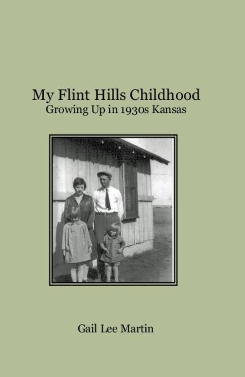 My Flint Hills Childhood by Gail Lee Martin contains a section about her memories of wearing feedsack dresses.