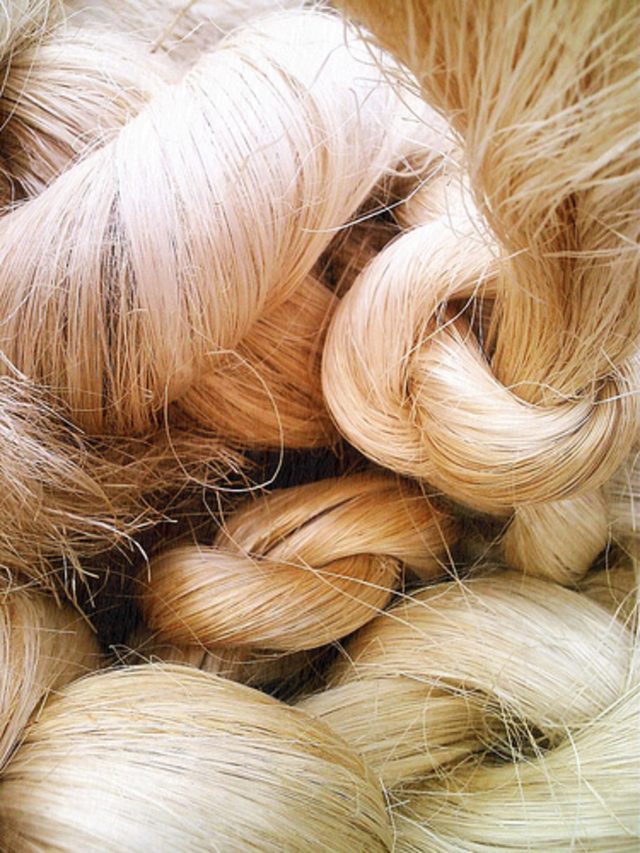 abaca fibers