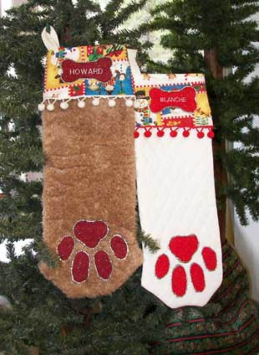Dog Christmas Stockings