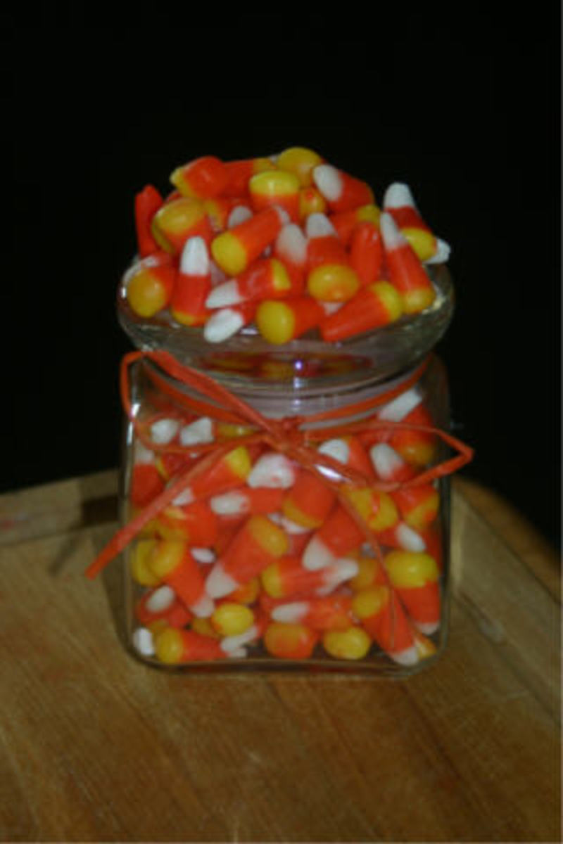 Candy corn guess game