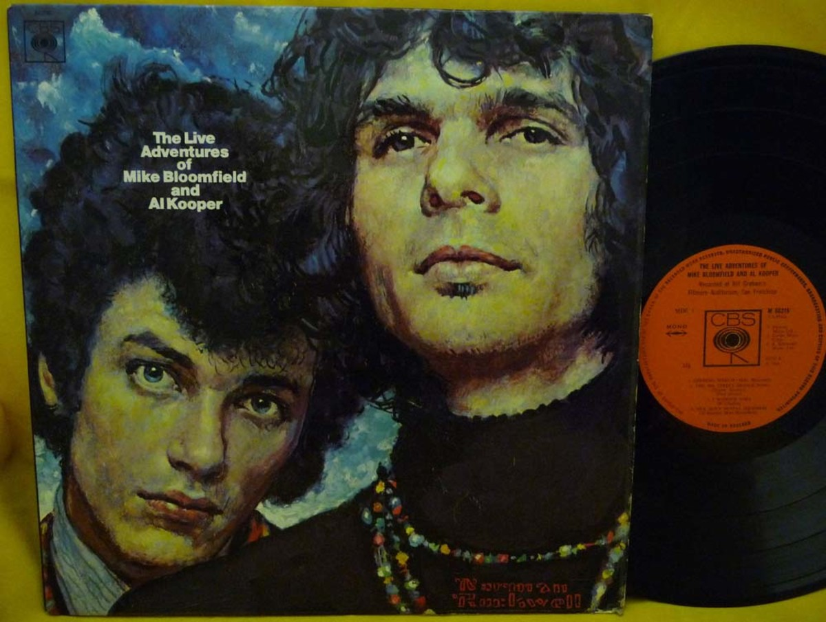 Album cover of Al Kooper and Mike Bloomfield