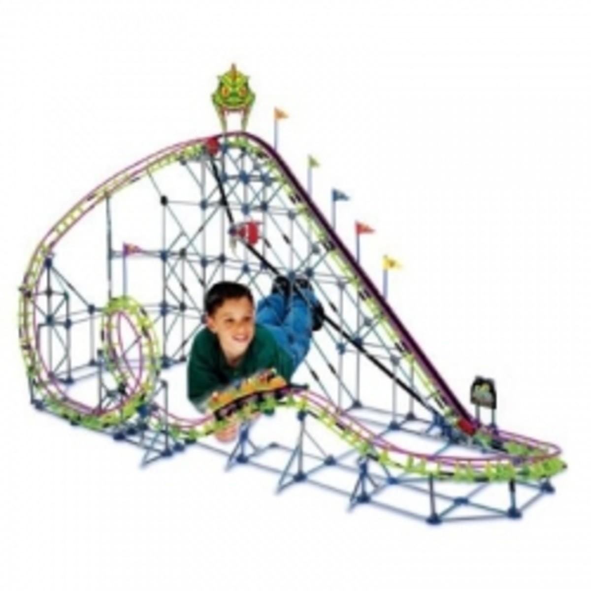 K'nex Roller Coasters - 14 Models Featured