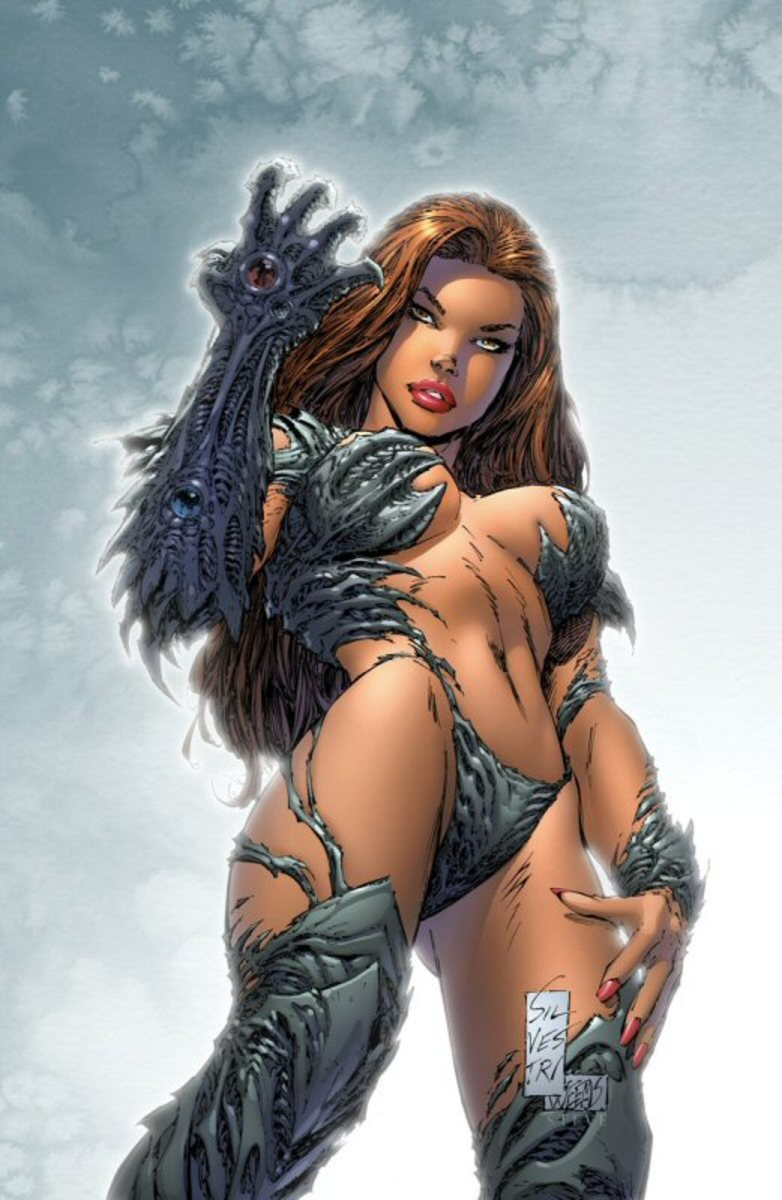 Witchblade by Marc Silvestri