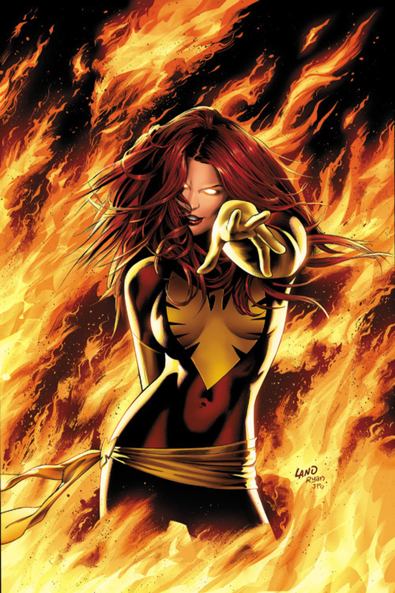 Jean Grey - Phoenix / Dark Phoenix by Greg Land