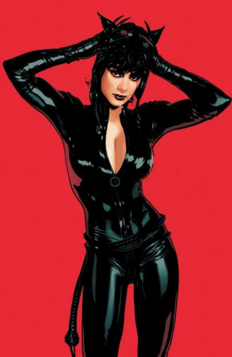 Catwoman by Adam Hughes