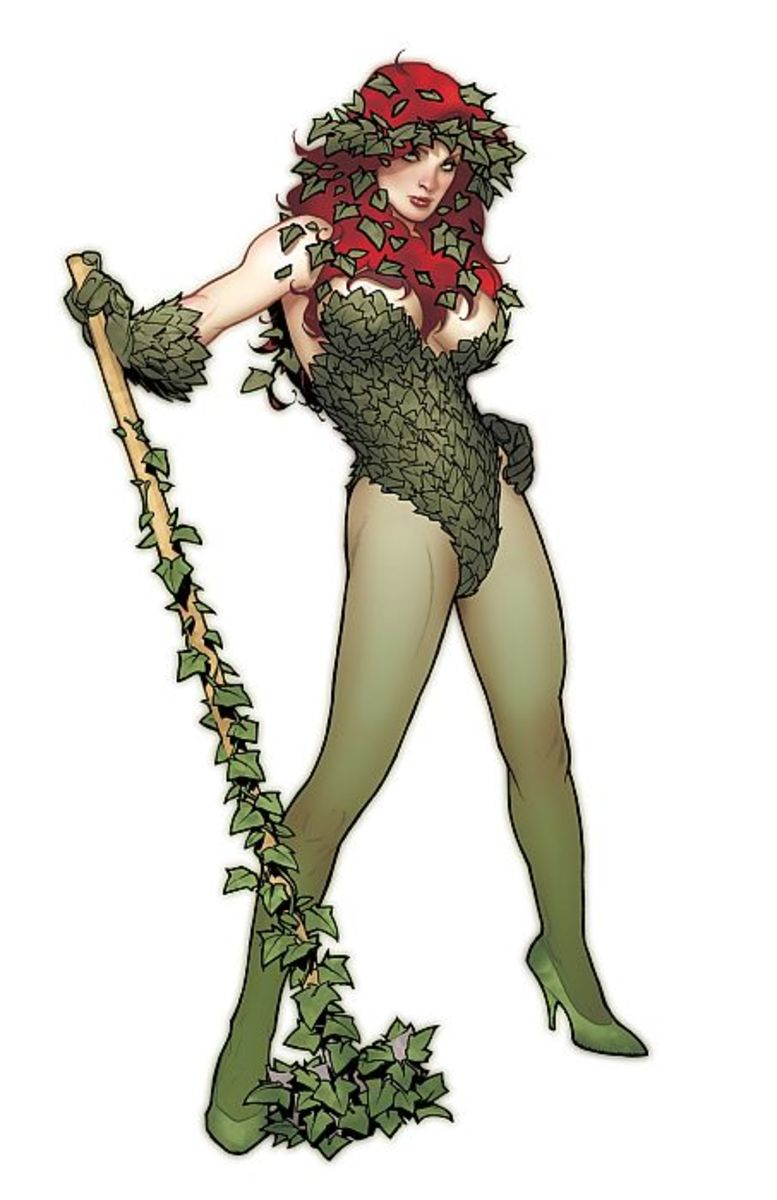 Poison Ivy, again by Adam Hughes