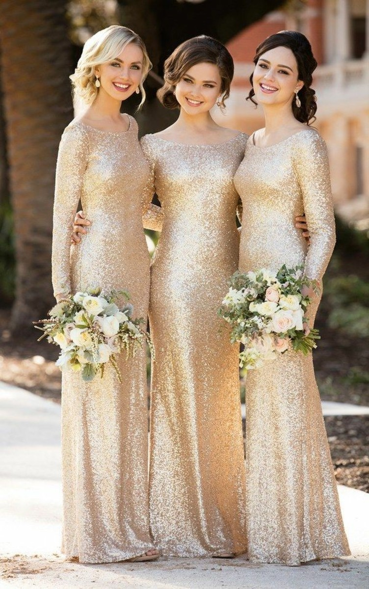 Sorella Vita 2017 Gold Bridesmaid Dresses
