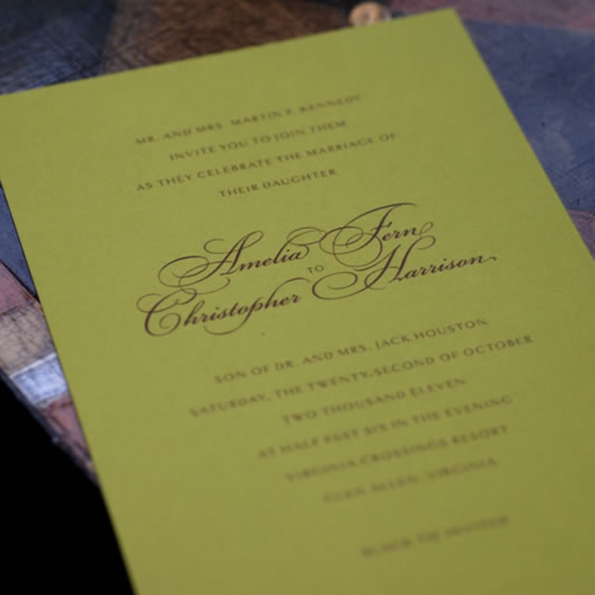 Keep the  Christmas themed, wedding invitations simple yet majestic.  It does not matter what time of year your wedding will be, just remember that the wedding invitations set the tone for the entire wedding day.