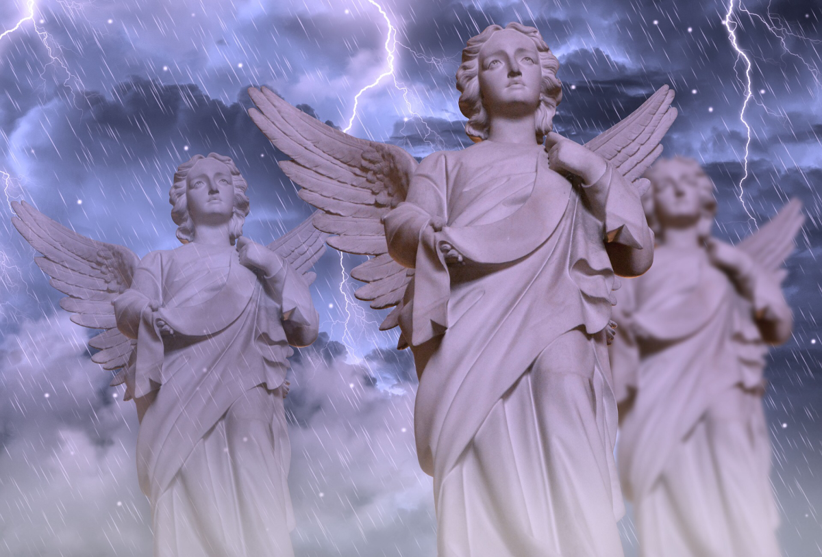 Angels: God's Legions of Heavenly Hosts Watch Over Humanity.