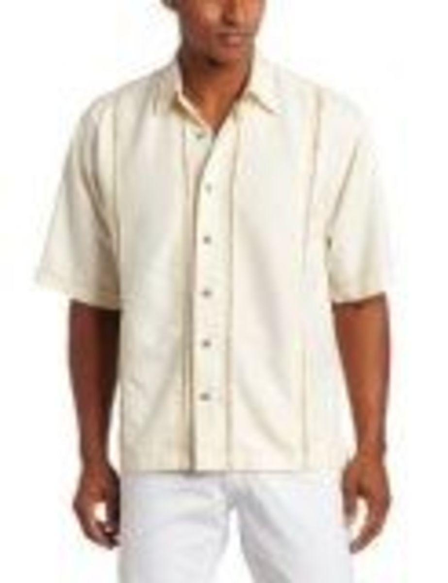 Charlie Harper Style Cubavera/Guayabera Shirt