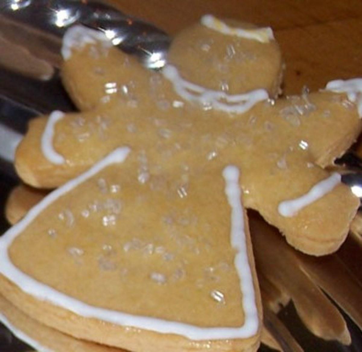 Simple Angel sugar cookie.