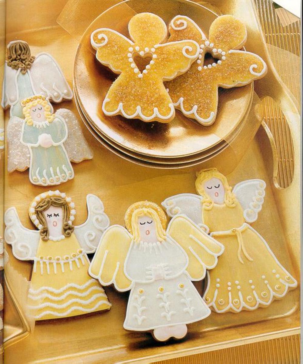 Beautiful Angel Cookies (SugarCraft.com)