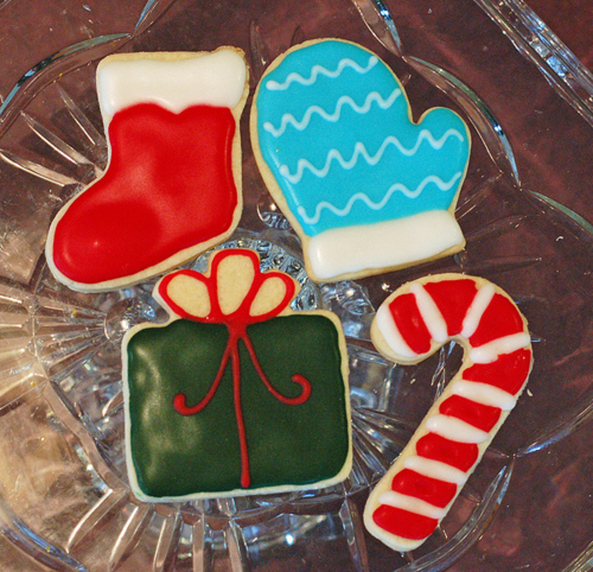 Sugar Cookies with Colored Icing (Photo: Samdogs/Flickr.com)