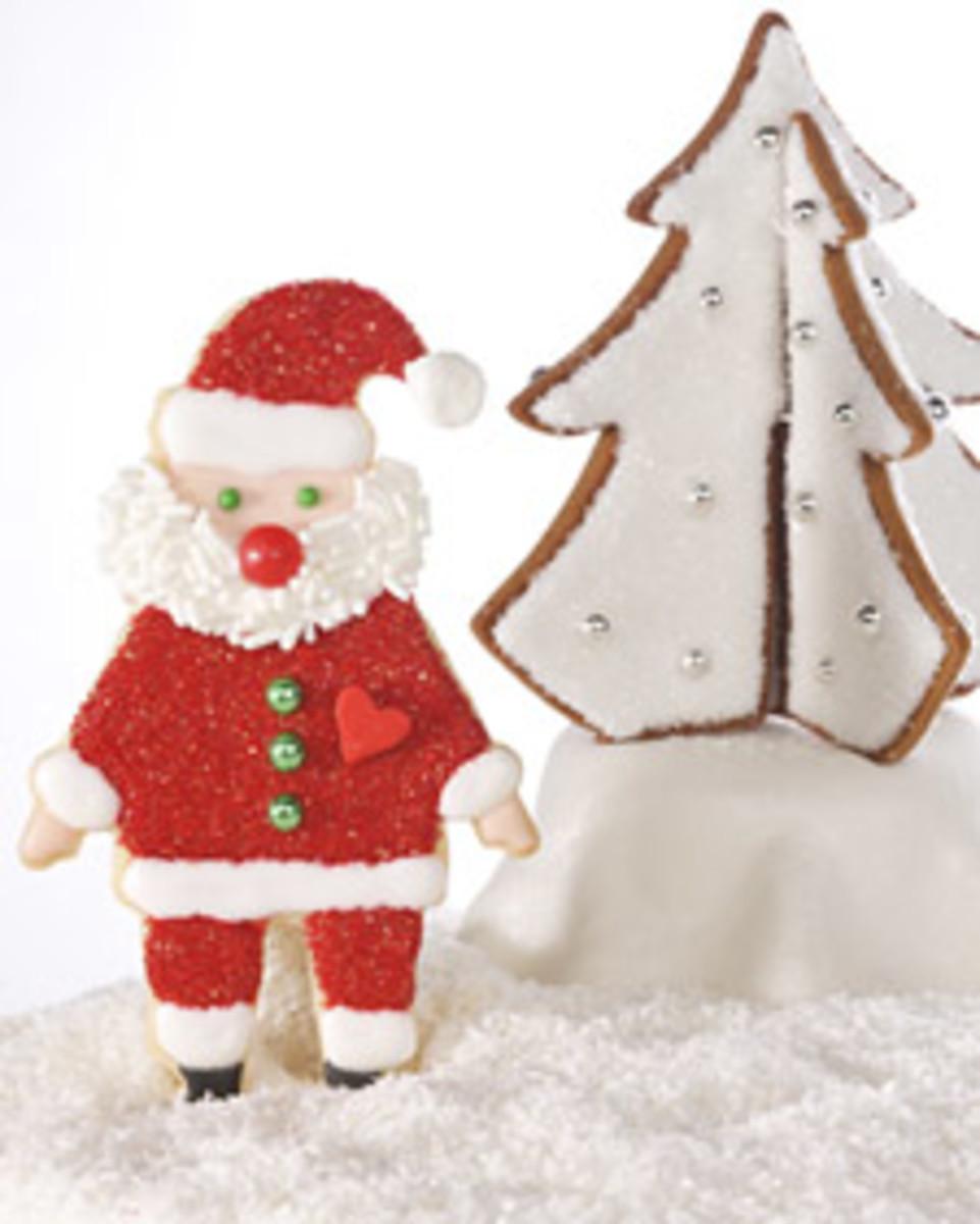Santa cookie (Photo:MarthStewart.com)