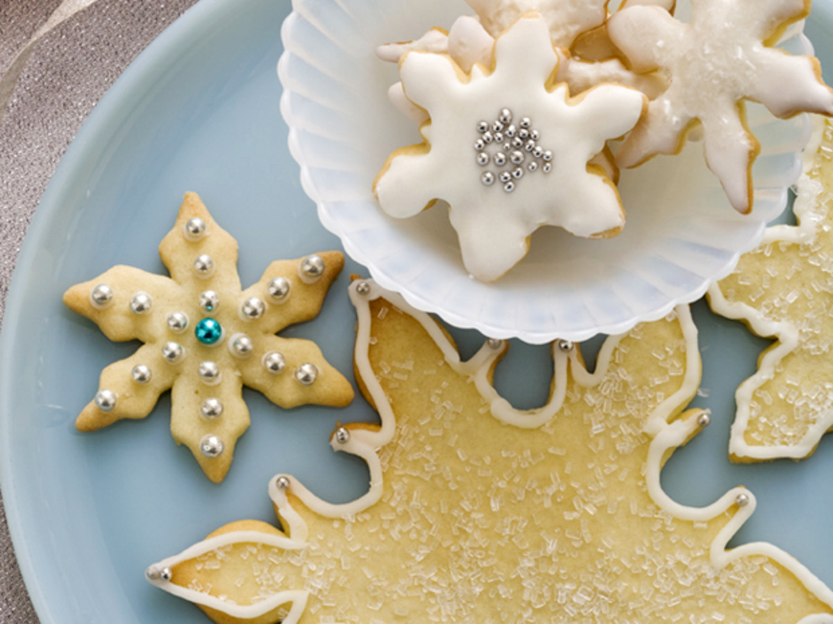 Snowflake Sugar Cookies (FoodNetwork.com)
