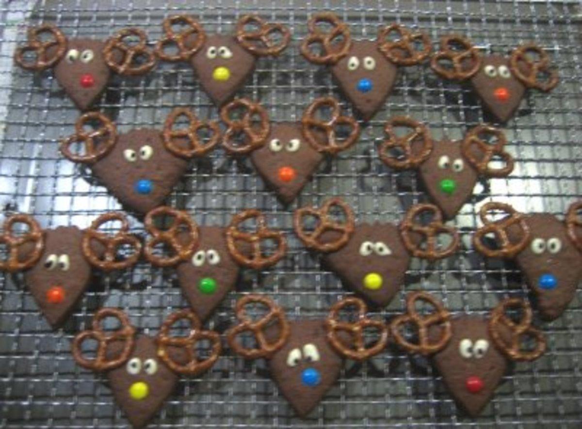 Reindeer Cookies (Photo:Mezkitchen.blogspot.com)