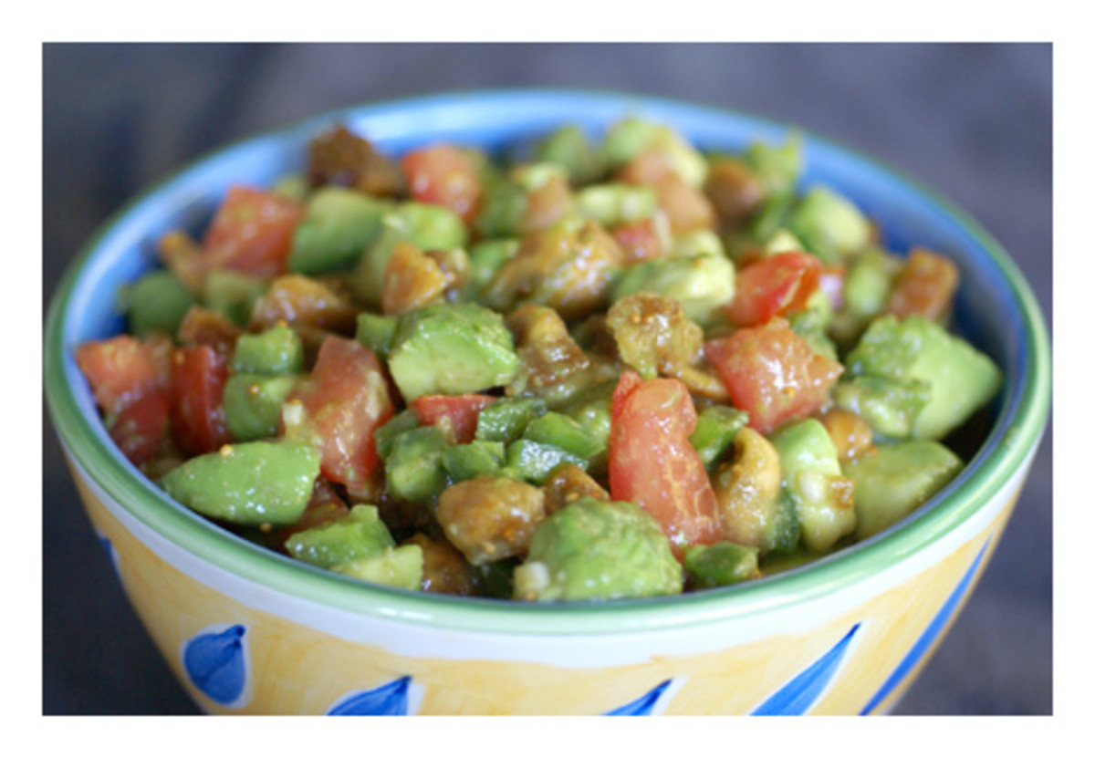 Avocado & Fig Salsa to get you both in the mood
