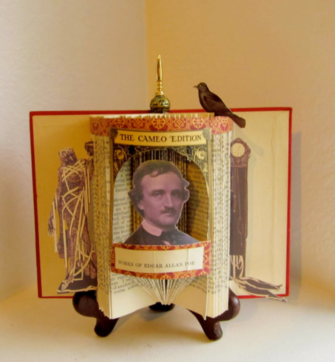 Art created by Susan Hoerth and featured in her Etsy store, called RaidersoftheLostArt. The topic is Works of Edgar Allan Poe.