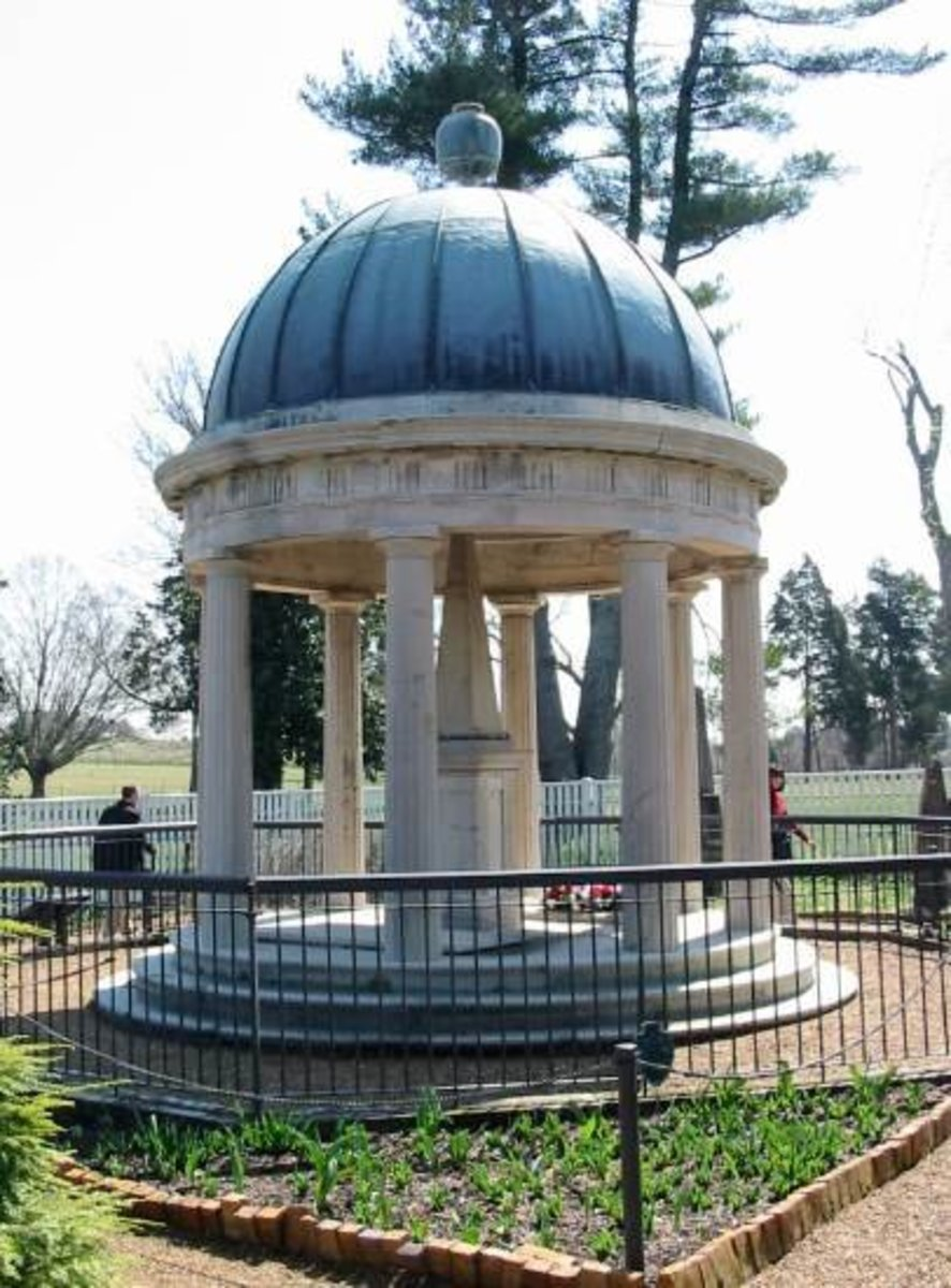 Jackson Tomb at the Hermitage.