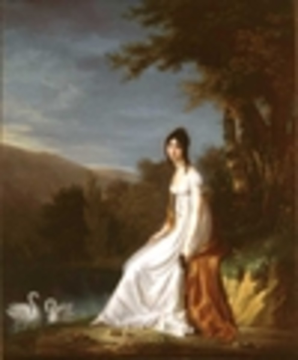 Josephine's chooses the bride, Aglae Louise Auguie