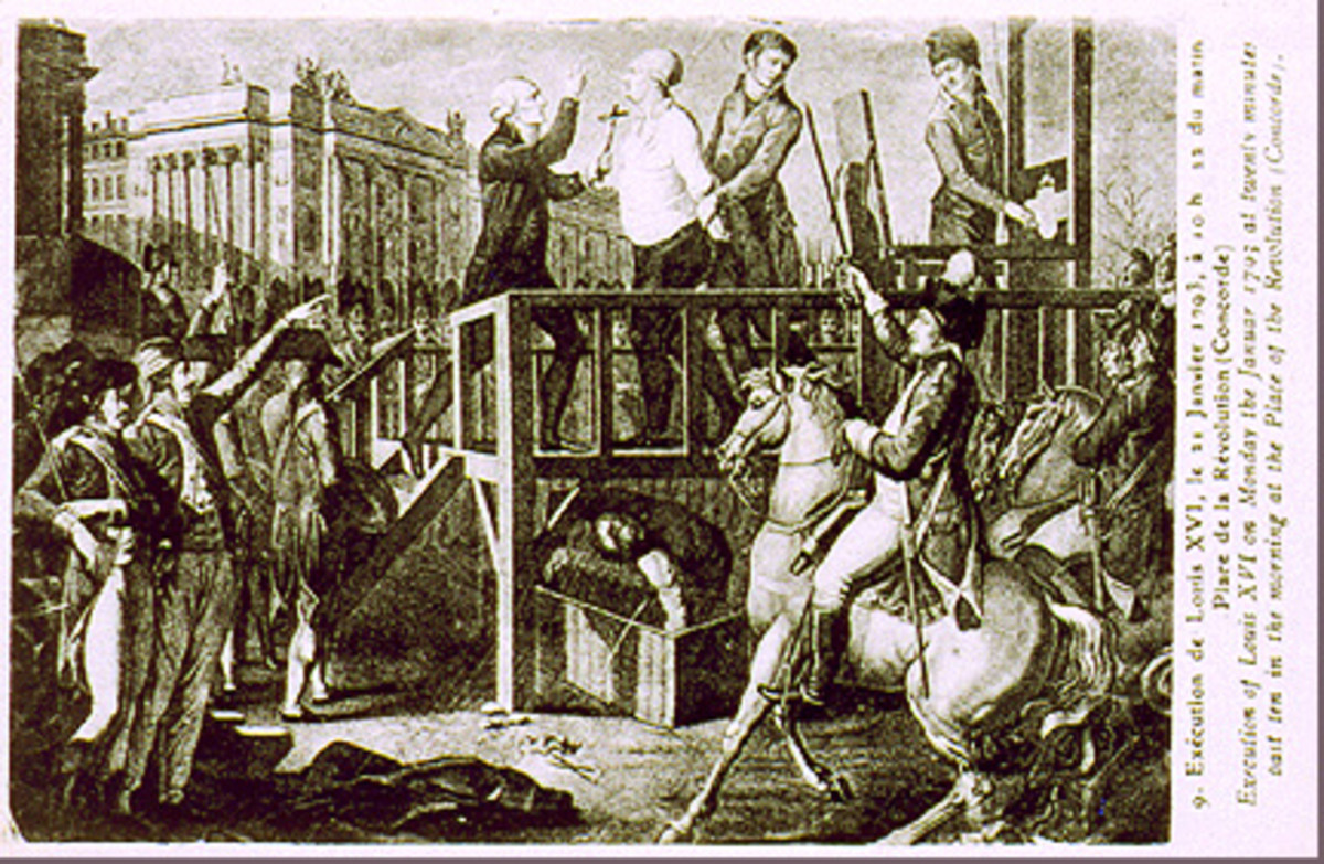 The execution of Louis XVI.
