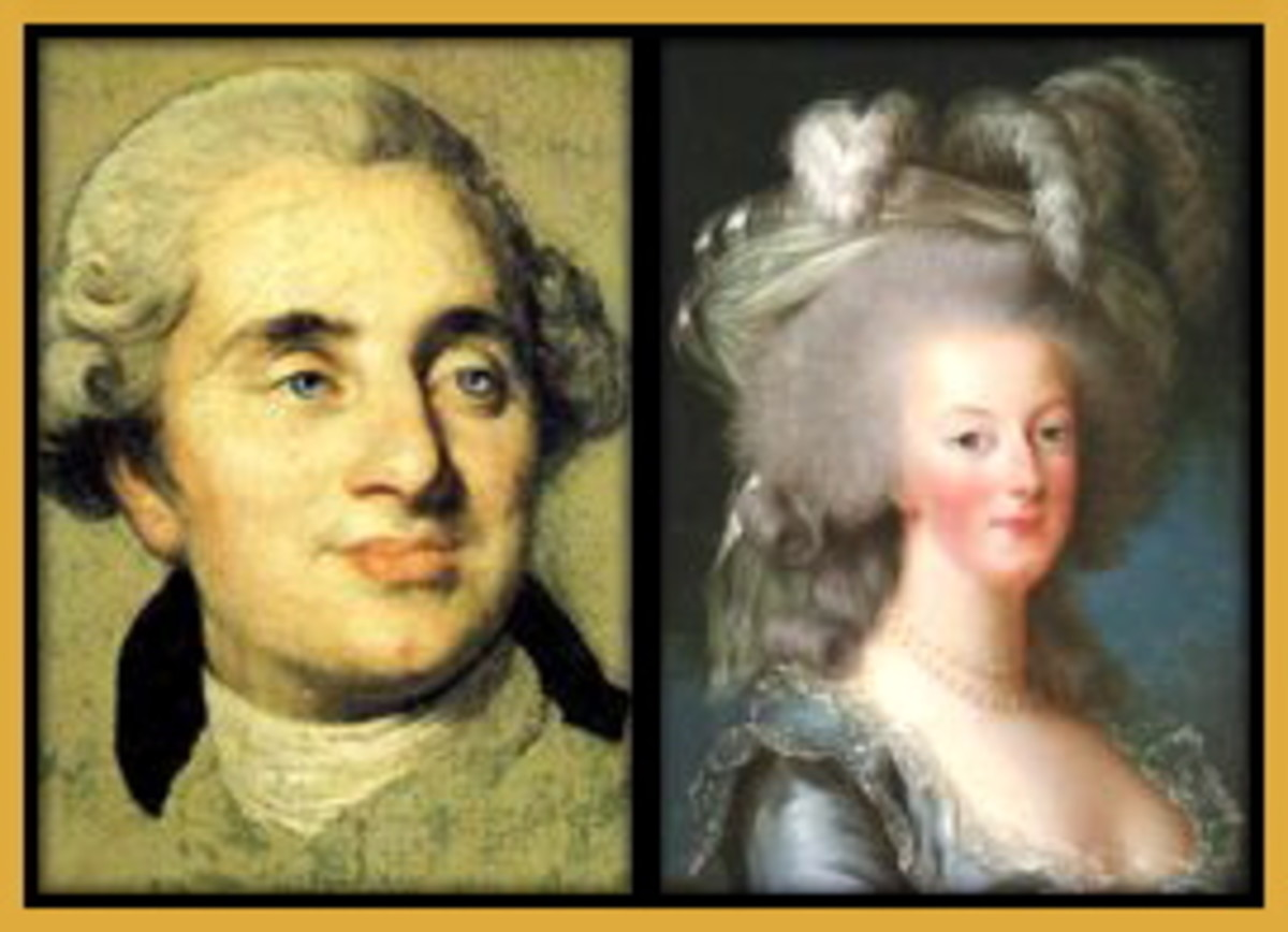 Louis XVI, King of France and Marie-Antoinette.