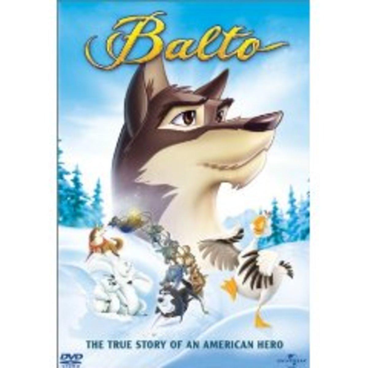 "Movie poster for ""Balto"""