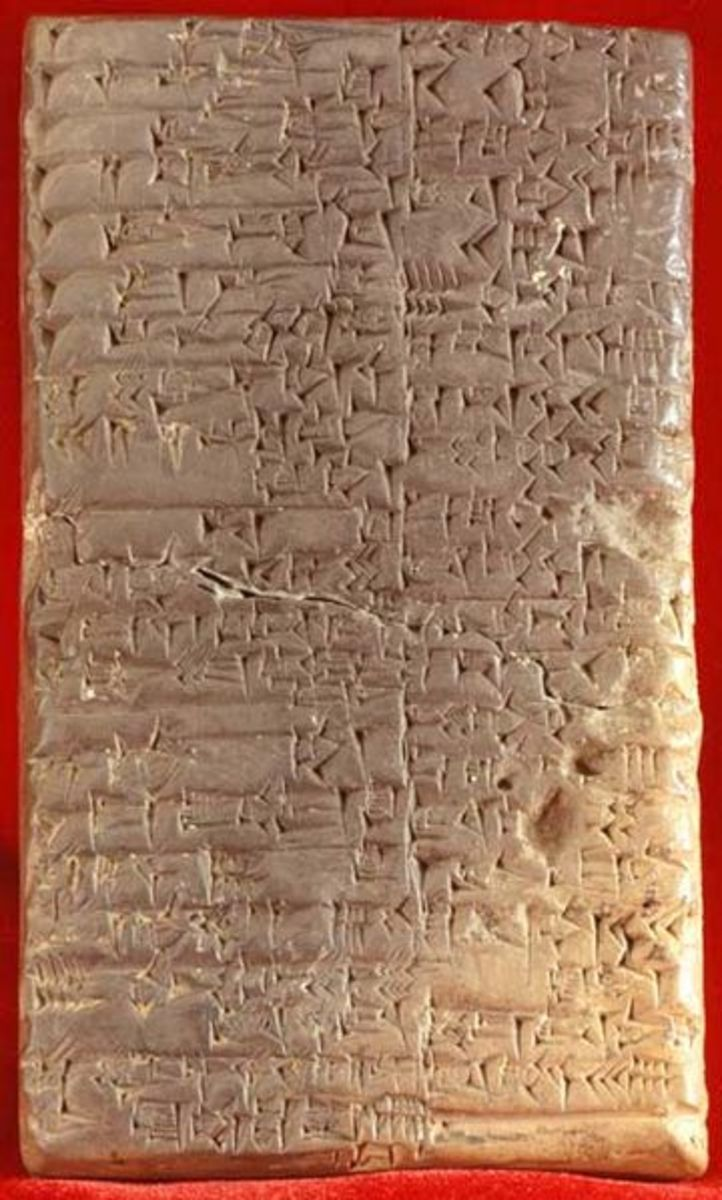 Clay Tablets from Mesapotamia