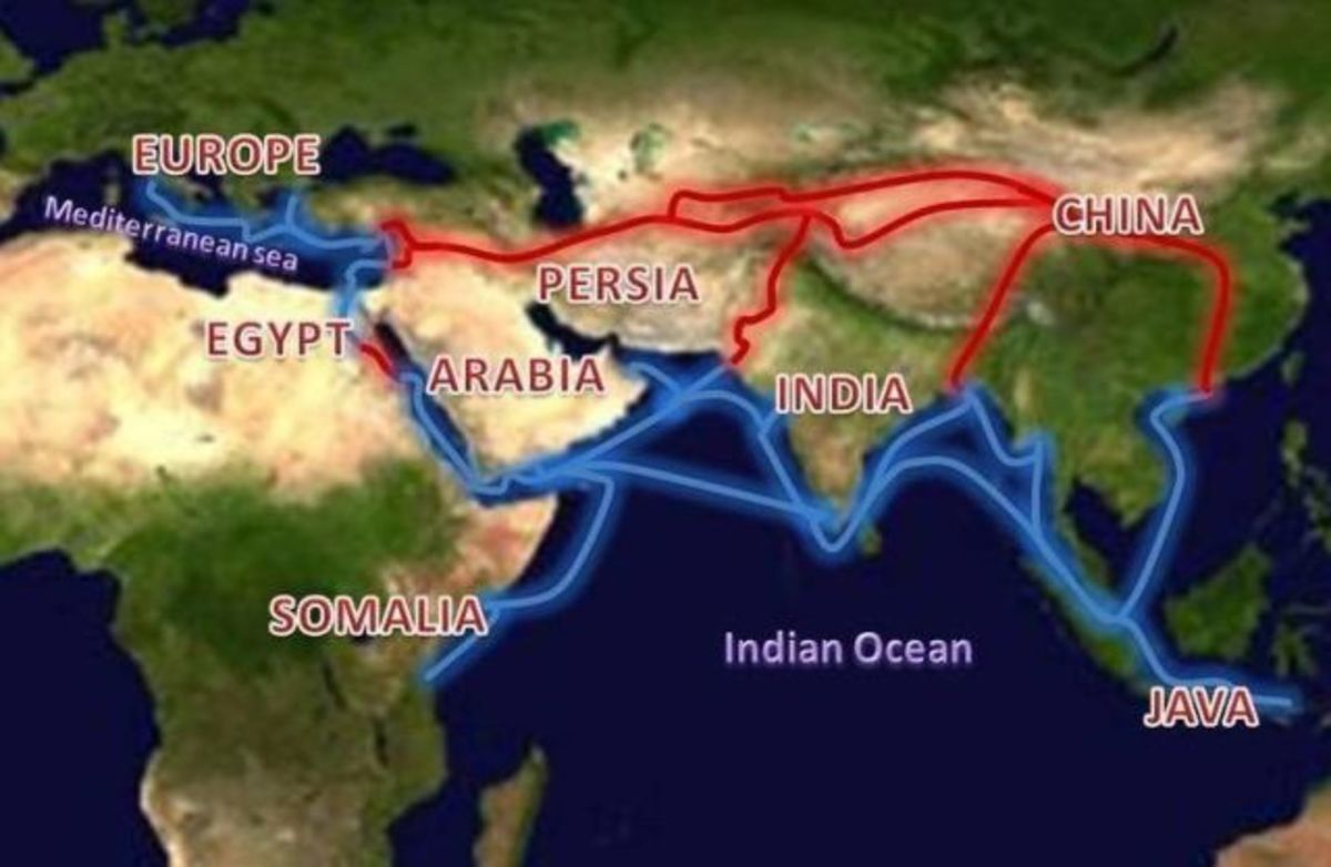 The Silk Road was the  Link Between East and West