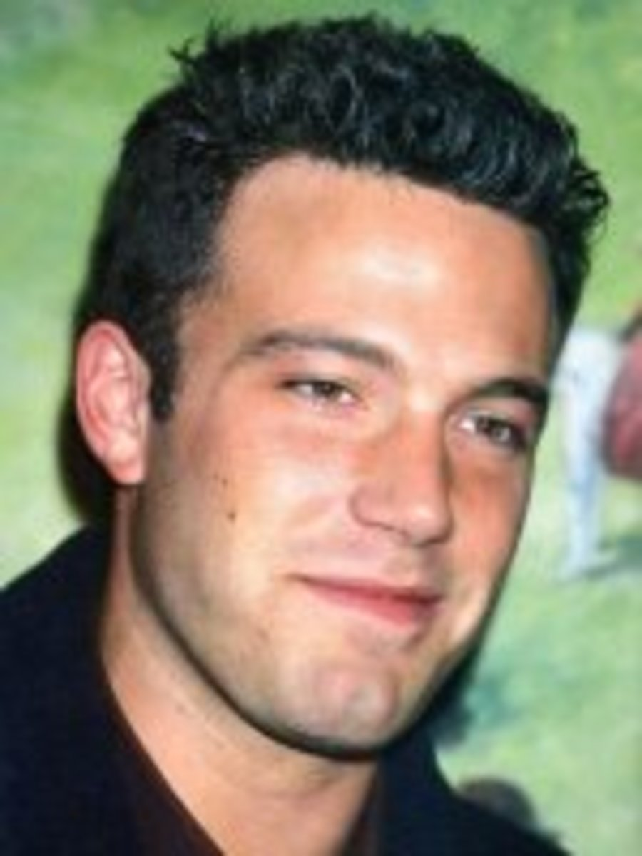 Is Ben Affleck wearing a celebrity hair piece?