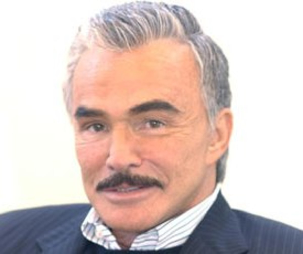 Burt Reynolds has had some very good hair pieces over the years.