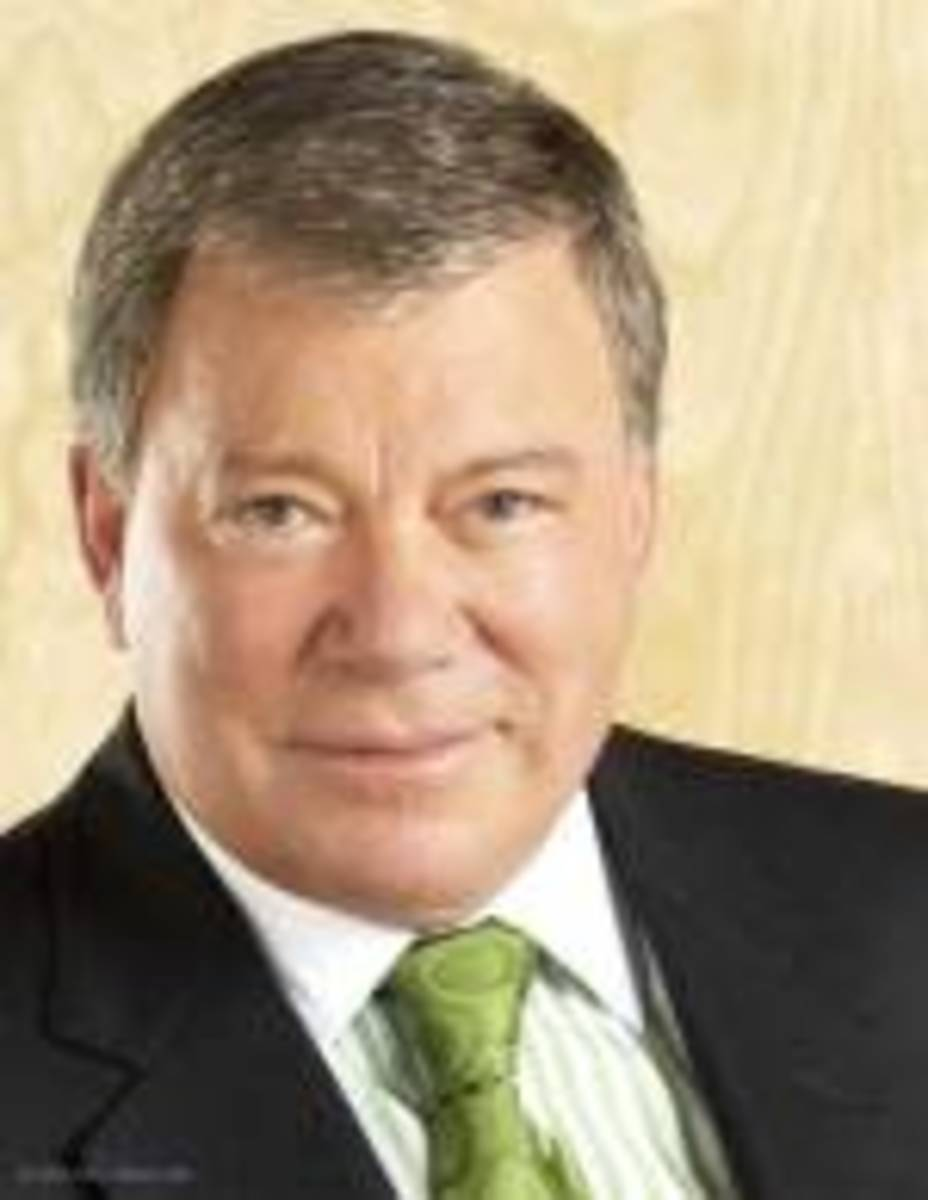 William Shatner has worn a hair piece for years.