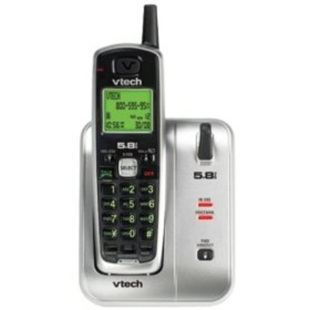 -Tech CS5111 5.8GHz Cordless Phone