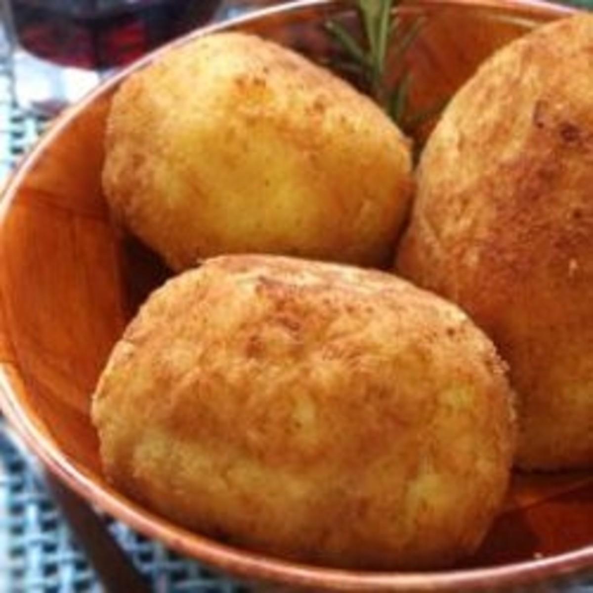 Sicilian Arancini, Montalbano's Croquettes