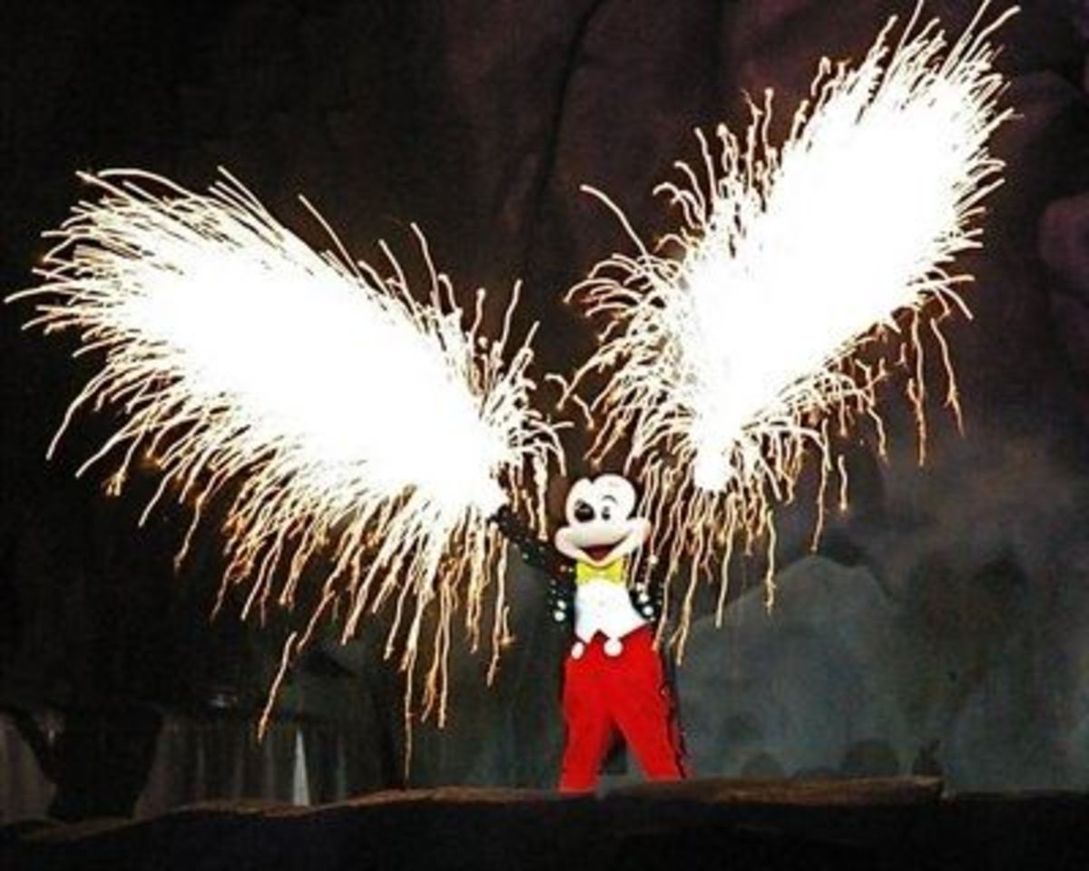 The Good Guy Always Wins! Mickey Mouse is Victorios in the End.