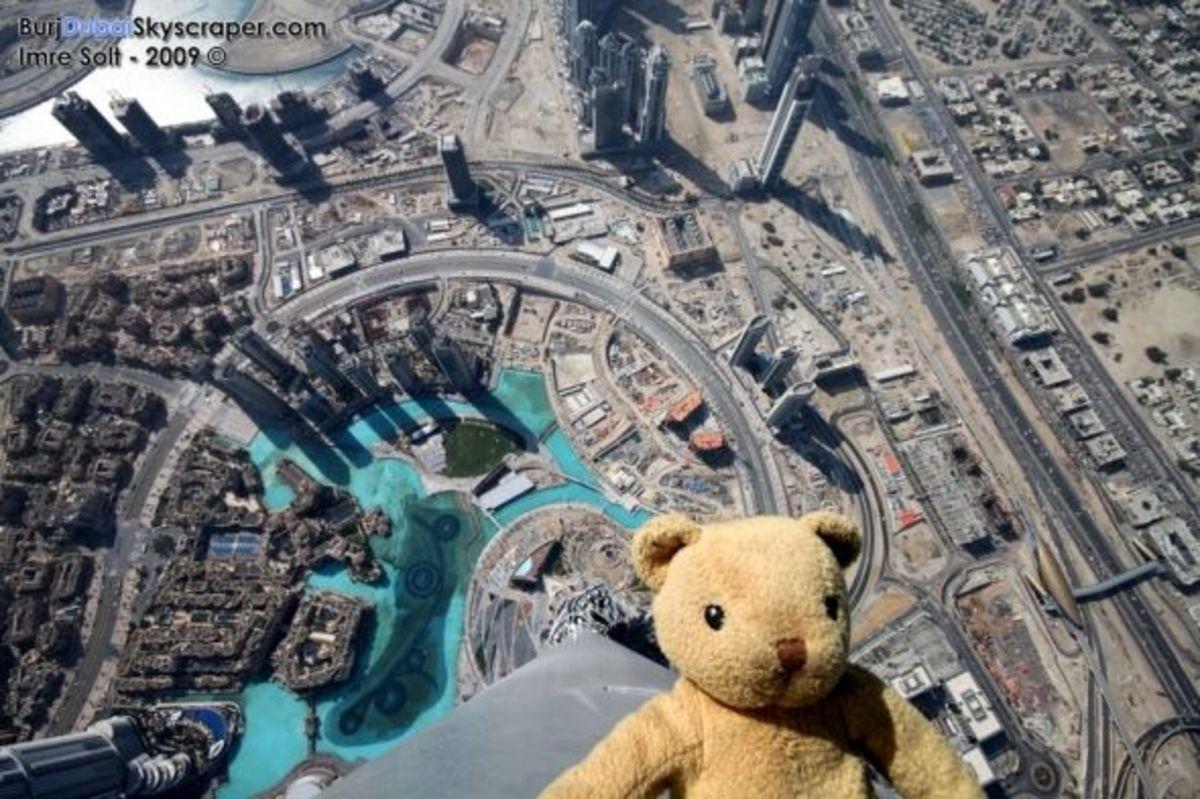 Sight / View from Top of Burj Khalifa