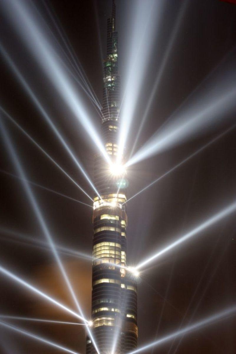 Burj Khalifa Lights