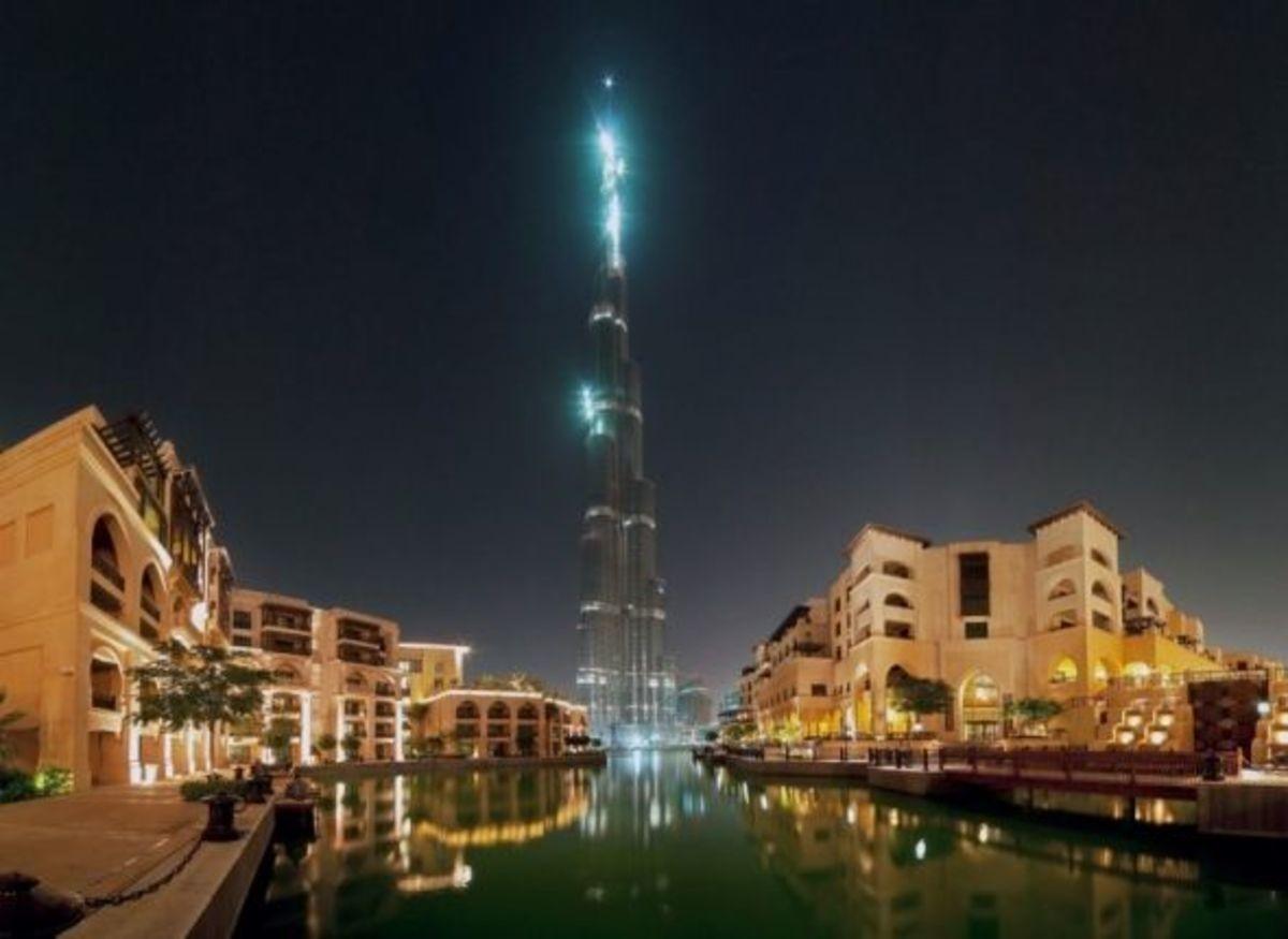 Burj Khalifa beautiful view