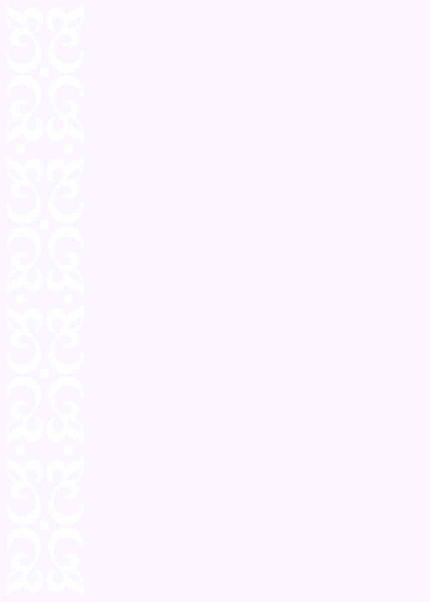 Pastel white on purple scroll work printable wedding invite