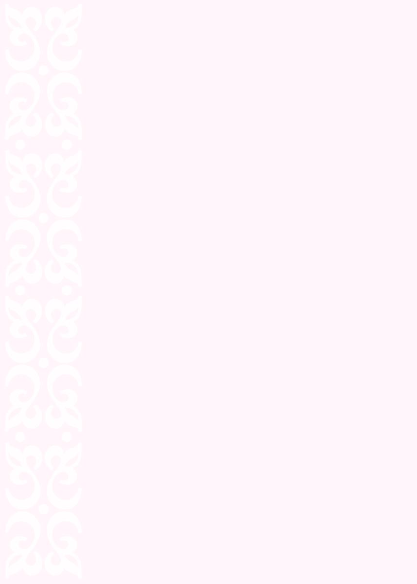 Pastel white on pink scroll work printable wedding invite