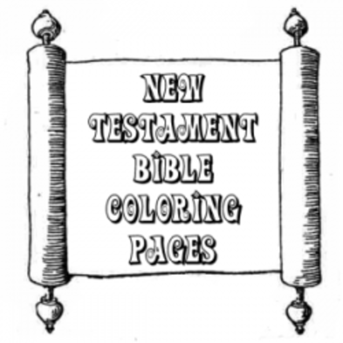 new testiment coloring pages - photo#4