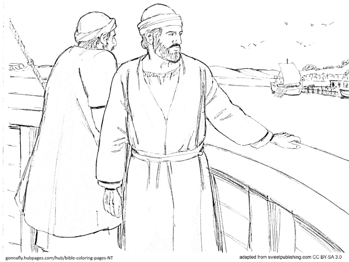 Acts 21 Paul's missionary journey
