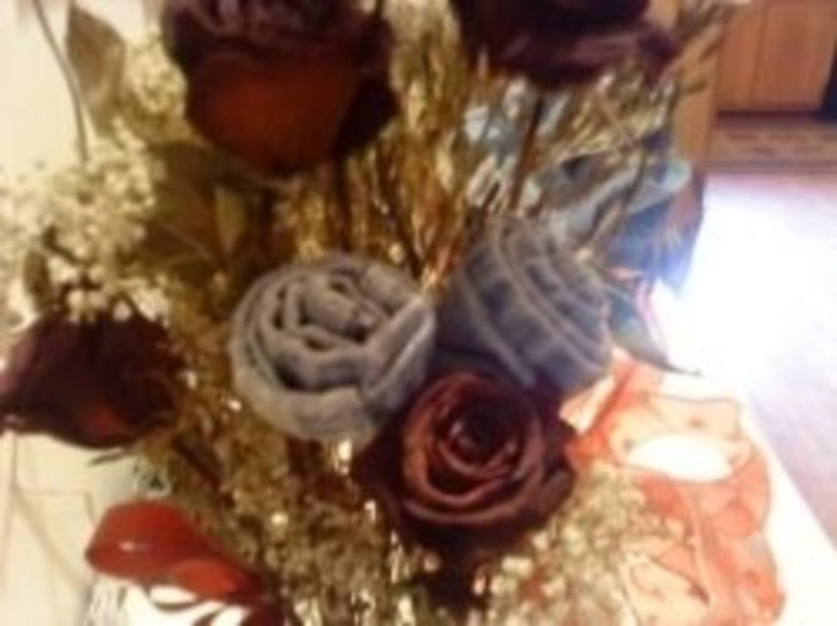 Make a Fabric Rose