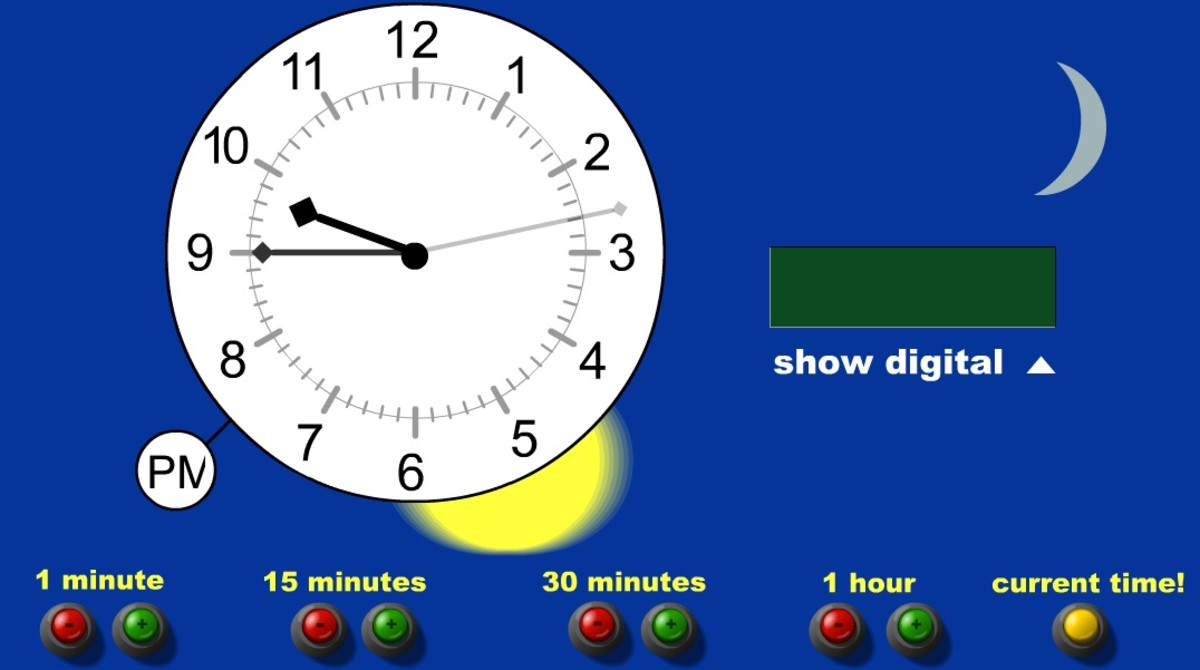 Teaching Time Clock