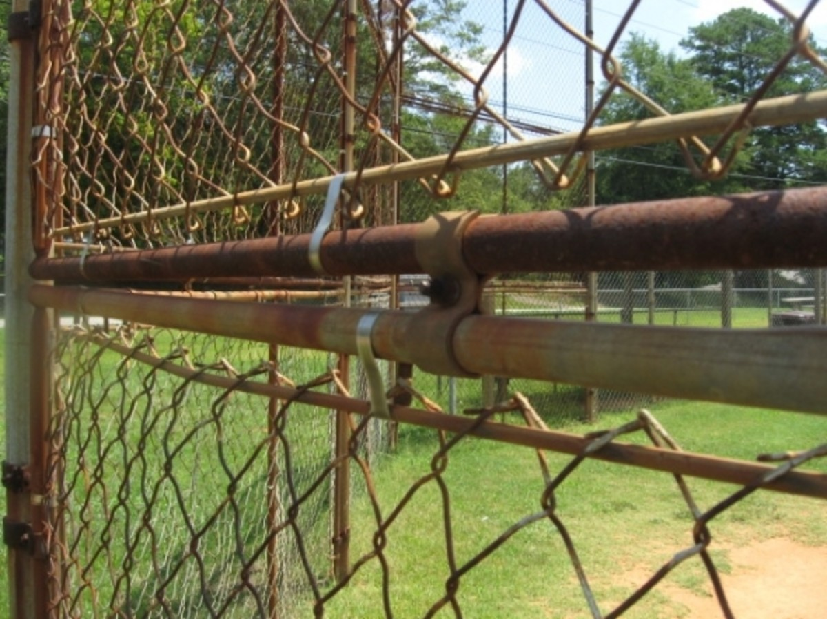 Fencing at Veterans Park in Pendleton SC