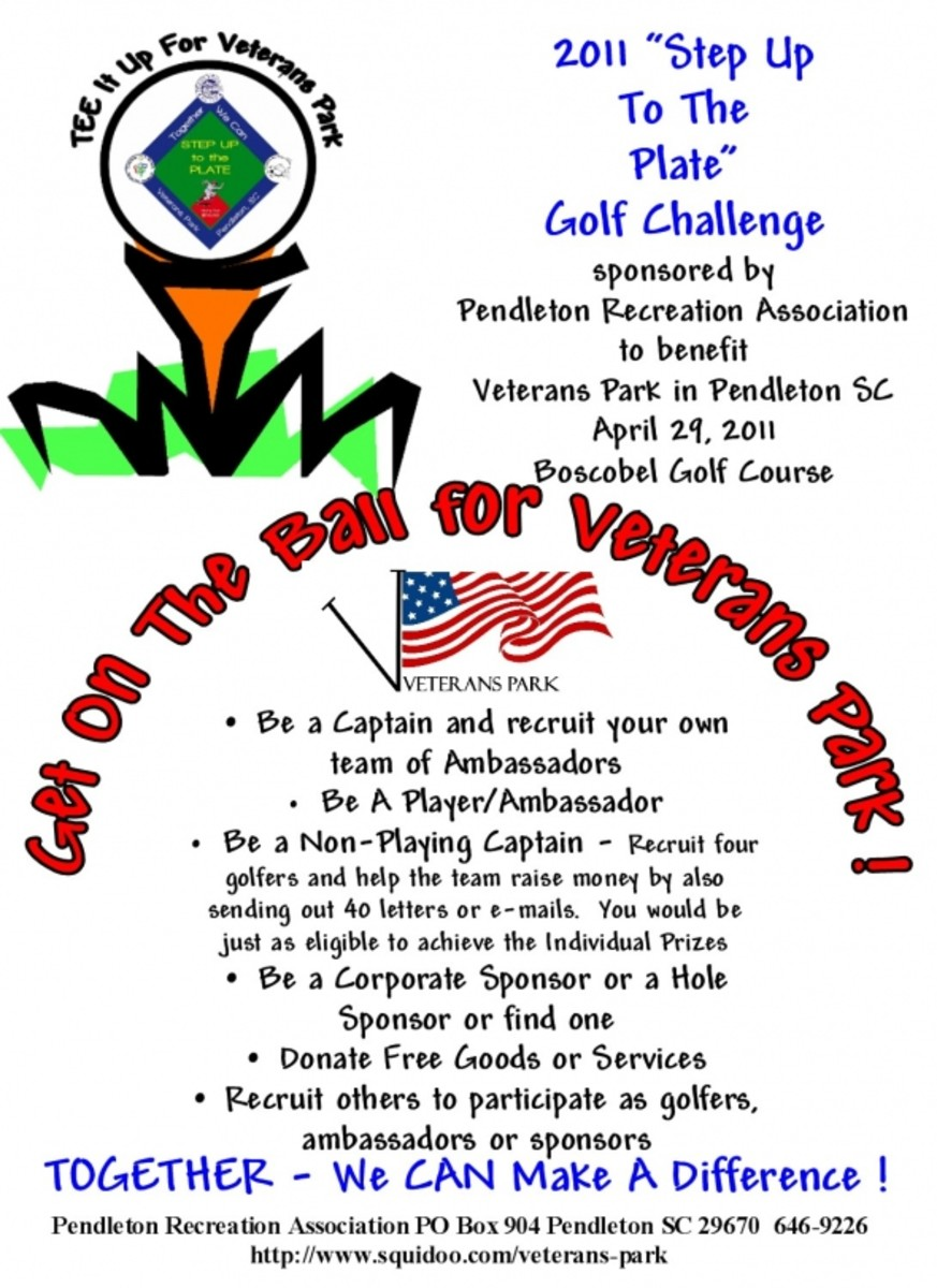 Step Up To The Plate Golf Challenge