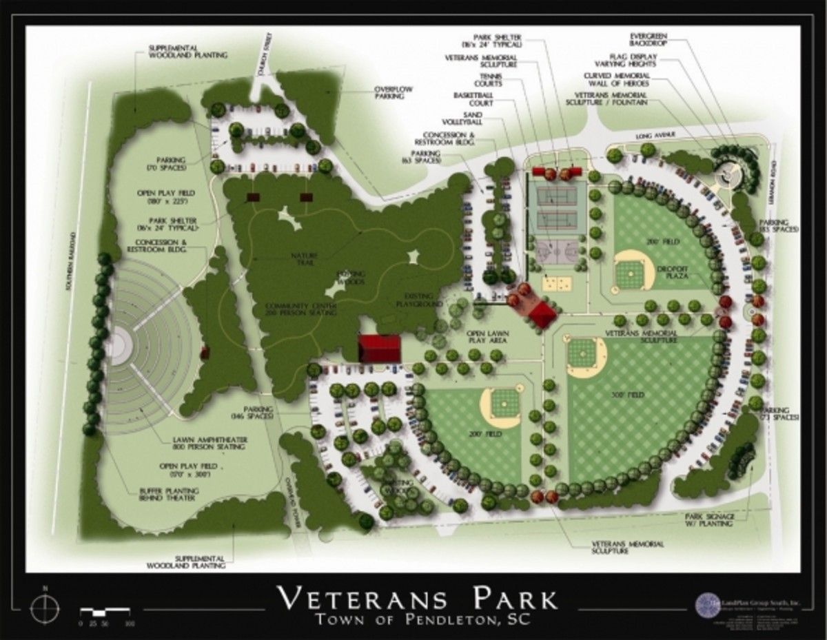 Veterans Park Master Plan Get involved! Let's Make It Happen! ogether WE CAN Make A Difference!
