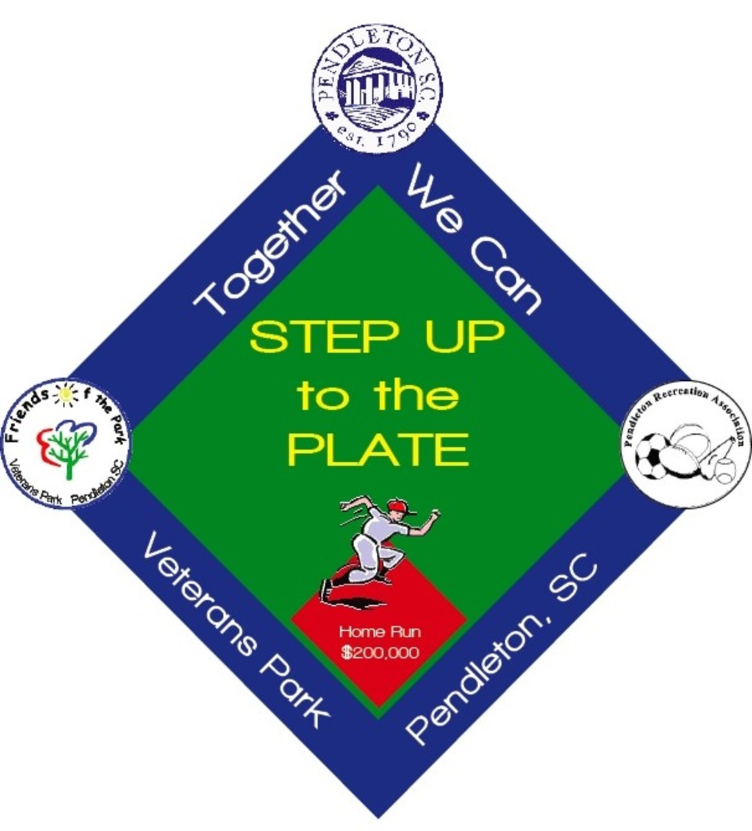 Photo Credit: Step Up To The Plate Logo by Lynne Parker Graphics