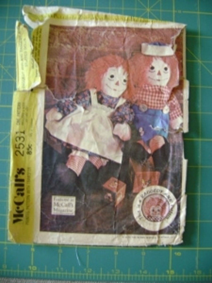 Making Raggedy Ann & Andy Dolls