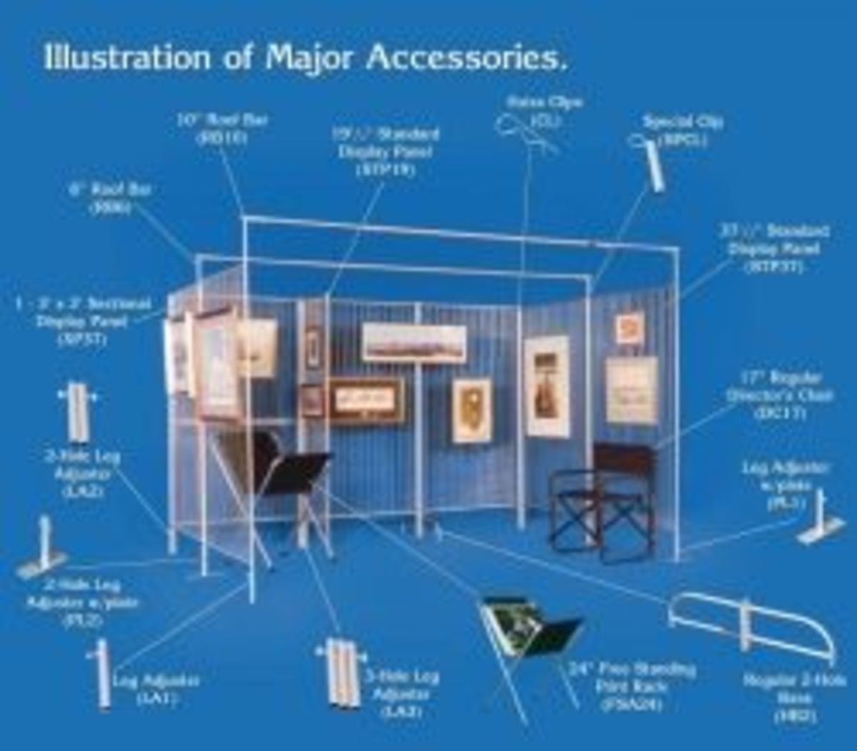 Example Of Accessories Available From Graphic Displays